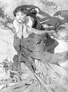 losdocemesesnoviembrepaup5, the twelve months, november by A. Mucha