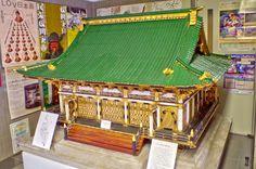 日光東照宮の模型(滑川市立博物館)