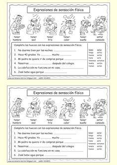 Me encanta escribir en español: estado físico