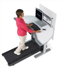work exercise space - umm, can i have this?!