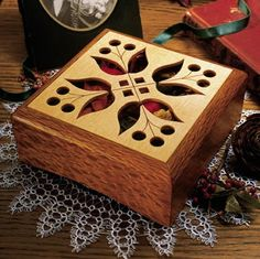 Potpourri Box Woodworking Plan from WOOD Magazine