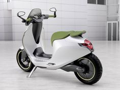 Smart electric scooter Diesel, E Scooter, Vespa Scooters, Motor Scooters, Scooter Parts, Electric Scooter For Kids, Electric Cars, Electric Motor, Benz Smart