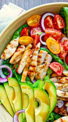 Caprese Salad, Cobb Salad, Fitness, Food, Diet, Salads, Essen, Meals, Yemek