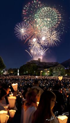 Bastille Day in Lourdes, France
