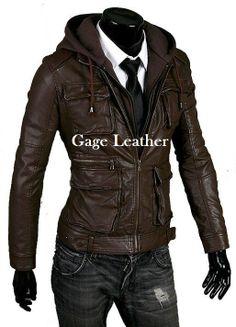 Jaket Kulit Asli Domba Kode Gage 04 Untuk Pemesanan Silahkan Hubungi www.gageleather.com #leatherjacket