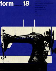 form N° 18. 1962. Cover: Karl Oskar Blase. © Verlag form GmbH & Co. KG