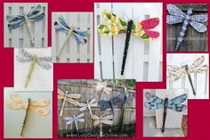 Table Leg Dragonflies and Butterflies... Moving On! | Lucy Designs