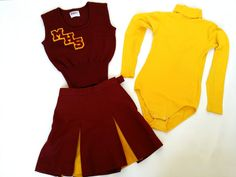 Wool cheer costume (more information, more etsy gold) Cheer Practice Outfits, Cheer Outfits, Cool Outfits, Cheer Costumes, Outdoor Fashion Photography, Riverdale Fashion, Cheerleading Uniforms, School Girl Outfit, Popular Girl