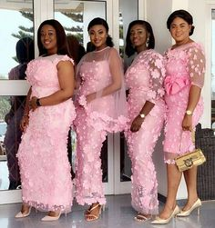 We are here again to give us the Latest PINK ASO EBI DRESS for your Owambe/Asoebi. Select from our Latest Pink Lace Styles below African Lace Styles, African Lace Dresses, Latest African Fashion Dresses, African Dresses For Women, Nigerian Fashion, African Wear, Aso Ebi Dresses, Lace Dress Styles, Africa Dress