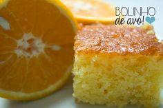 Bolo de laranja: gostoso, fofinho e bem fácil de fazer Rose Pasta, Citrus Cake, Pastel Cakes, Cake Piping, Portuguese Desserts, I Love Food, No Bake Cake, Baked Goods, Cake Recipes