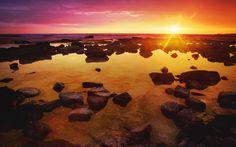Wonderful Rocks Wallpaper by Aaron Dulley on FL | Landscape HDQ | 224.24 KB
