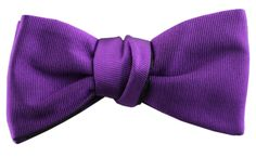 The Purple Young Turk – Le Noeud Papillon Of Sydney | The Self-Tying Bow Tie Specialists | Made In Australia