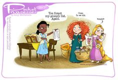 Pocket Princesses 217: Shopping Day Please reblog, don't repost, edit or remove captions Facebook - Instagram