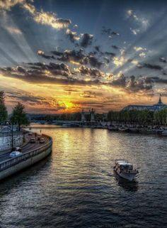 Saine River, Paris