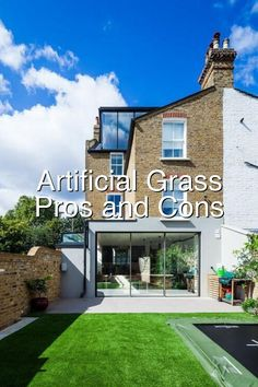 Artificial Grass The Pros and Cons#510 Astro Turf Garden, Hydraulic Cars, Grass, Grasses, Herb