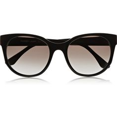 Thierry Lasry Peroxxxy acetate round-frame sunglasses found on Polyvore