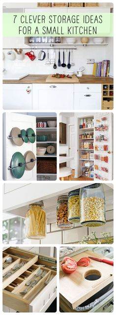 7 Clever storage kitchen ideas.