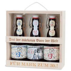 Ein personalisiertes Bierset ist eine wundervolle Geschenkidee für Biertrinker. Ein persönliches Biergeschenk für Opa, Papa, Bruder oder Freund.