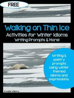 FREE - Winter Idiom Activities