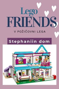 Stephanie a jej dom Lego Friends, Toy Chest, Storage Chest, Toys, Activity Toys, Clearance Toys, Gaming, Games, Toy