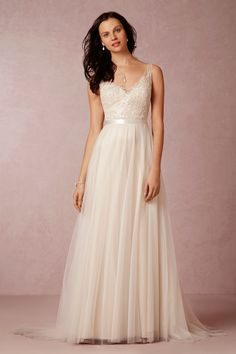 BHLDN Persiphone Gown in  Bride Wedding Dresses Ball Gown at BHLDN