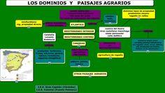 Los dominios y paisajes agrarios.