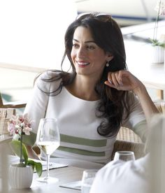 Amal Alamuddin Extreme Dieting: Insecure About Weight and Appearance - Anorexic Weight Loss Rumors (PHOTOS)