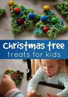 Toddler Approved!: Christmas Tree Rice Crispy Treats