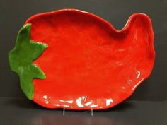 Kitchen Themes, Kitchen Ideas, Kitchen Decor, Red Chili, Plates And Bowls, Pottery Studio, Platter, Bugs, Tropical