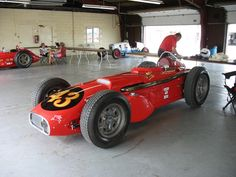roadsters at Michigan Int'l Speedway 2011 - indy roadster builders