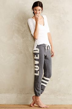 Anthropologie Loved Sweatpants #anthrofav #griegedesign