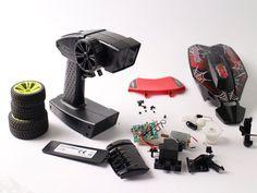 Revellutions Auto Fernbedienung RedBack Ersatzteile Reifen Empfänger Gehäuse in Spielzeug, Elektrisches Spielzeug, Ferngesteuertes | eBay