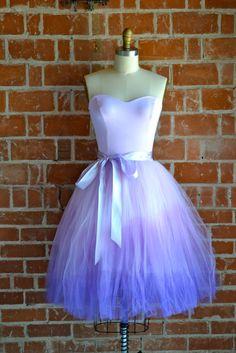 Floor length + a different color = wedding dress