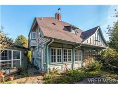 1911 two storey cottage oozing character and charm located only five houses from heart of Oak Bay Village