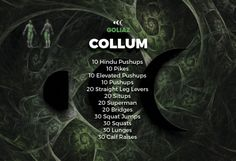 On Day 1 we will start with an AMRAP (As Many Rounds As Possible) style workout. This will be a warm up so the most sedentary can adapt to what's about to come. You can see what is included in COLLUM. Find more in http://goliaz.com/ocrxtrmduties1/
