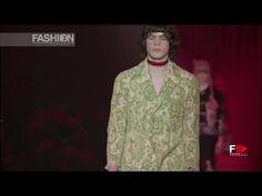 GUCCI Full Show Fall 2016/2017 Menswear Milan by Fashion Channel