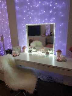 20 crazy DIY room decoration ideas for a very reasonable price - Schminkzimmer - Bedroom Decor