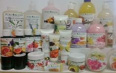 PURE BLEND - hand made organic and natural range of body and home care products that were not only affordable for all but also used high quality ingredients Love Massage, Tea Tree, Aromatherapy, Mango, Branding, Pure Products, Dishes, Manga, Brand Management