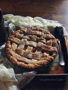 stone fruit pie :: une gamine dans la cuisine