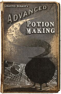 Severus Snape's copy of Advanced Potion-Making Cover