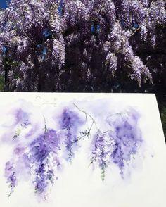 Watercolorist: @dnprovence  #waterblog #color #акварель #art #paint #aquarelle #watercolor #drawing #painting by watercolor.blog