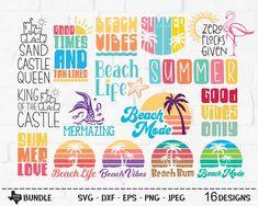Beach Bum, Summer Beach, Commercial, Life