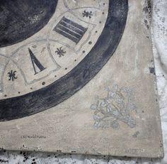 Old World Patina: Farragoz Clock Face Finished