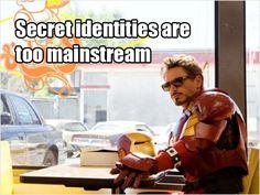 Just Tony Stark...