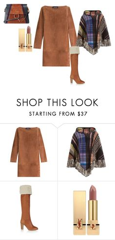 """""""Into the woods."""" by rabiaheart-13 ❤ liked on Polyvore featuring Vanessa Seward, Missoni, Yves Saint Laurent and Chloé"""