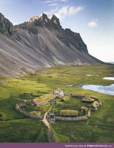 Super Viking village in Iceland. Have you seen something like this? Image from fb. Viking Village, Couple Travel, Family Travel, Nature Photography, Travel Photography, Drone Photography, Landscape Photography, Voyager Loin, Destination Voyage
