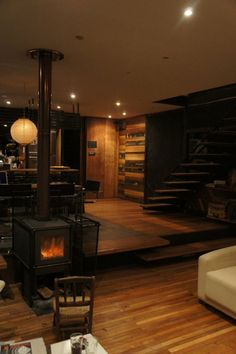 Incredible Design Living Room Interior Contemporary Forest House