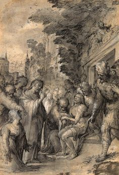 Caspar Freisinger | ca. 1560-1599 | Raising of Lazarus | The Morgan Library & Museum