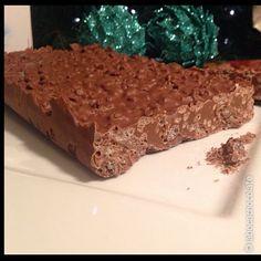 Cómo hacer una tableta de turrón de chocolate en 5 minutos.