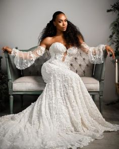 Dream Wedding Dresses, Bridal Dresses, African American Weddings, African Weddings, Black Bride, Bridal Shoot, Wedding Looks, Bridal Style, Just In Case
